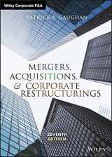 9781119380764-1119380766-Mergers, Acquisitions, and Corporate Restructurings (Wiley Corporate F&A)