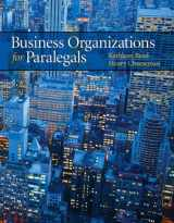 9780135103647-0135103649-Business Organizations for Paralegals