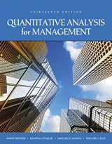 9780134543161-0134543165-Quantitative Analysis for Management (13th Edition)