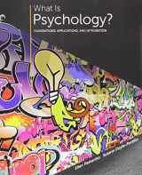 9781305700871-1305700872-Bundle: What is Psychology?: Foundations, Applications, and Integration, Loose-Leaf Version, 3rd + LMS Integrated for MindTap Psychology, 1 term (6 months) Printed Access Card