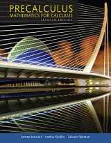 Precalculus: Mathematics for Calculus