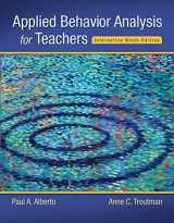 9780134027098-0134027094-Applied Behavior Analysis for Teachers Interactive Ninth Edition, Enhanced Pearson eText with Loose-Leaf Version -- Access Card Package (9th Edition)