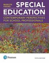 9780134488288-0134488288-MyLab Education with Enhanced Pearson eText -- Access Card -- for Special Education: Contemporary Perspectives for School Professionals (5th Edition)