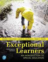 9780134806938-013480693X-Exceptional Learners: An Introduction to Special Education (14th Edition)