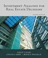 9781427742056-1427742057-Investment Analysis for Real Estate Decisions