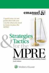 9781454891895-1454891890-Strategies & Tactics for the MPRE: (Multistate Professional Responsibility Exam) (Bar Review)