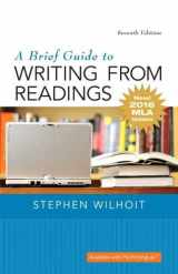 9780134586557-0134586557-Brief Guide to Writing from Readings, A, MLA Update Edition
