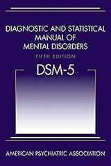 9780890425541-089042554X-Diagnostic and Statistical Manual of Mental Disorders, Fifth Edition (DSM-5(TM))