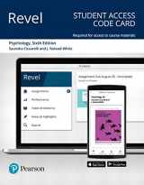 9780135212431-013521243X-Revel for Psychology -- Access Card
