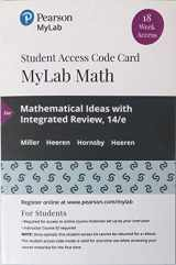 9780135910269-0135910269-MyLab Math with Pearson eText -- 18 Week Standalone Access Card -- for Mathematical Ideas