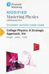 9780134724744-0134724747-Modified Mastering Physics with Pearson eText -- Standalone Access Card -- for College Physics: A Strategic Approach (4th Edition)