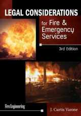 9781593703479-1593703473-Legal Considerations for Fire & Emergency Services