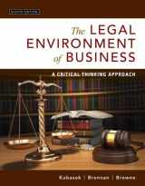 9780134074030-0134074033-Legal Environment of Business, The: A Critical Thinking Approach