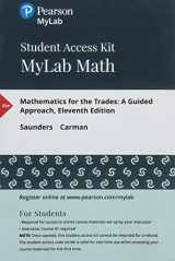 9780134836133-0134836138-MyLab Math with Pearson eText -- 24 Month Standalone Access Card -- for Mathematics for the Trades