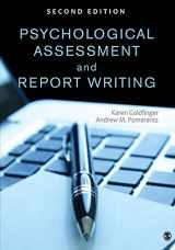 9781452259109-1452259100-Psychological Assessment and Report Writing