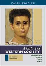9781319112455-1319112455-A History of Western Society, Value Edition, Volume 1