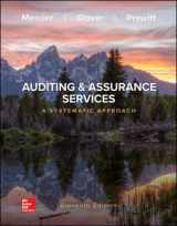 9781259969447-1259969444-Auditing & Assurance Services: A Systematic Approach