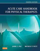 9781455728961-1455728969-Acute Care Handbook for Physical Therapists