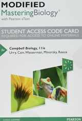 9780134447285-013444728X-Modified Mastering Biology with Pearson eText -- Standalone Access Card -- for Campbell Biology (11th Edition)