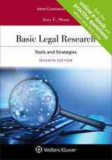 9781454894018-1454894016-Basic Legal Research: Tools and Strategies [Connected Casebook] (Aspen Coursebook)