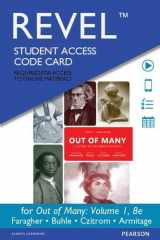 9780134101576-013410157X-Revel for Out of Many: A History of the American People, Volume 1 -- Access Card (8th Edition)