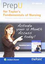 9781496385444-1496385446-PrepU for Taylor's Fundamentals of Nursing: The Art and Science of Person-Centered Nursing Care
