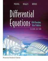9780134689500-013468950X-Differential Equations with Boundary Value Problems (Classic Version) (Pearson Modern Classics for Advanced Mathematics Series)