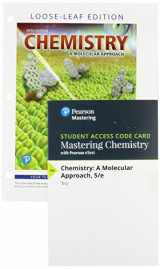 9780134990613-0134990617-Chemistry: A Molecular Approach, Loose-Leaf Plus Mastering Chemistry with Pearson eText -- Access Card Package (5th Edition)