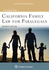 9781454852247-1454852240-California Family Law for Paralegals (Aspen College)