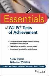 9781118799154-1118799151-Essentials of WJ IV Tests of Achievement (Essentials of Psychological Assessment)