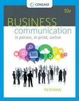 9781305500648-1305500644-Business Communication: In Person, In Print, Online