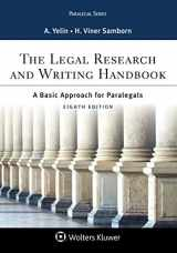9781454896388-1454896388-The Legal Research and Writing Handbook: A Basic Approach for Paralegals (Aspen Paralegal Series)