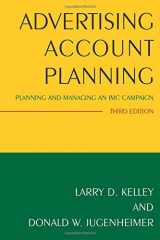 9780765640369-0765640368-Advertising Account Planning: Planning and Managing an IMC Campaign