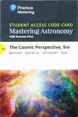 9780135180969-0135180961-Mastering Astronomy with Pearson eText -- Standalone Access Card -- for The Cosmic Perspective (9th Edition)