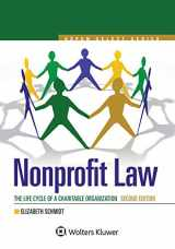 9781454879961-1454879963-Nonprofit Law: The Life Cycle of A Charitable Organization (Aspen Select Series)