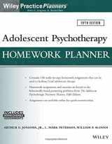 9781119246244-1119246245-Adolescent Psychotherapy Homework Planner (PracticePlanners)