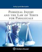 9781543810837-1543810837-Personal Injury and the Law of Torts for Paralegals (Aspen Paralegal)