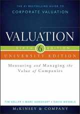 9781118873731-1118873734-Valuation: Measuring and Managing the Value of Companies, University Edition (Wiley Finance)