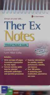 9780803620773-0803620772-Ther Ex Notes: Clinical Pocket Guide (Davis's Notes)