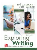 9780073534794-007353479X-Exploring Writing: Paragraphs and Essays
