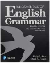 9780134656571-0134656571-Fundamentals of English Grammar with Essential Online Resources, 4e (4th Edition)