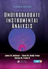 9781420061352-1420061356-Undergraduate Instrumental Analysis