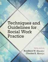 9780133980455-0133980456-Techniques and Guidelines for Social Work Practice with Pearson eText -- Access Card Package