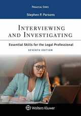 9781543801071-1543801072-Paralegal Series Interviewing and Investigating: Essentials Skills for the Legal Professional