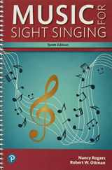 9780134475455-0134475453-Music for Sight Singing, Student Edition (What's New in Music)