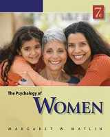9780840032898-0840032897-The Psychology of Women (PSY 477 Preparation for Careers in Psychology)