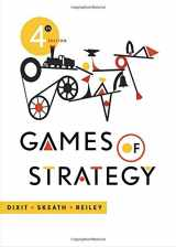 9780393919684-0393919684-Games of Strategy (Fourth Edition)