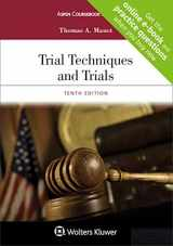 9781454886532-1454886536-Trial Techniques and Trials + Website companion [Casebook Connect] (Aspen Coursebook)
