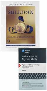 9780135278468-0135278465-Algebra and Trigonometry, Loose-Leaf Edition Plus NEW MyLab Math -- 24-Month Access Card Package (11th Edition)