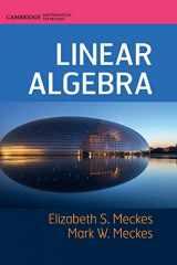 9781107177901-1107177901-Linear Algebra (Cambridge Mathematical Textbooks)